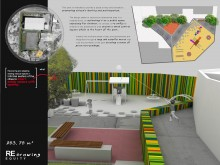 This projection is intended to provide a place to stay and recreation, promoting citizen's identity and participation.