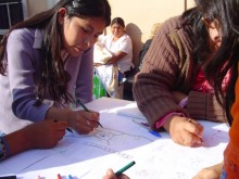 Community workshop, Chile.