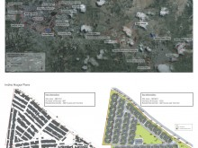 Google satellite map used to show residents relocation strategy for Sangli.