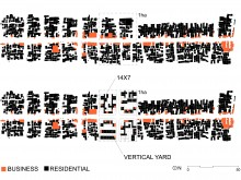 Vertical Yard Typology and 14×7 Row House