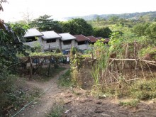 Community row houses, Miraculous Hills, Rodriguez, Rizal province, Philippines.