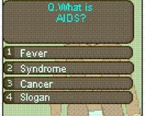 A Q&A game educates India's youth about the realities of HIV/AIDS. © ZMQ